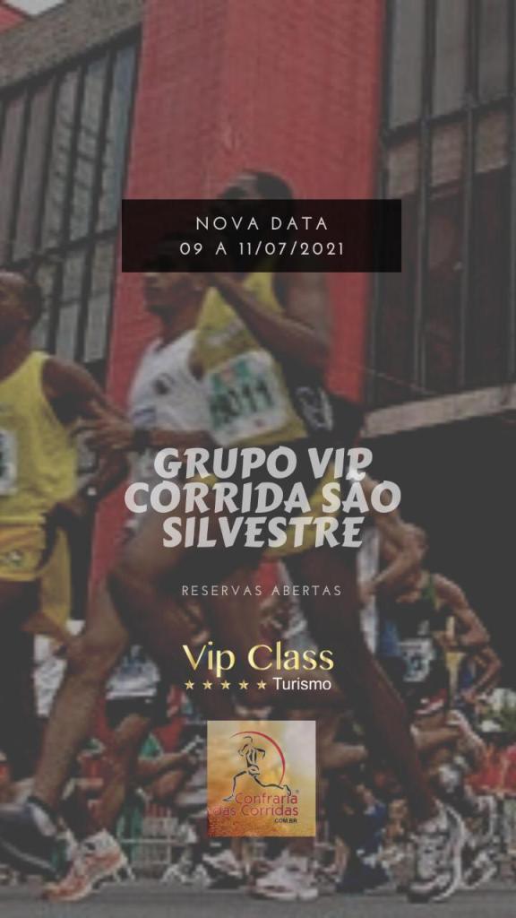 Grupo Vip para a Corrida de São Silvestre 2021