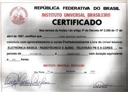 INSTITUTOUNIVERSALBRASILEIRO