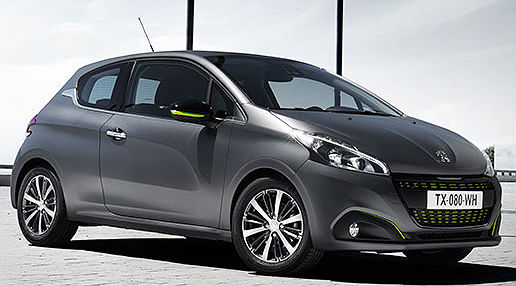 nuova peugeot 208 access active allure a confronto. Black Bedroom Furniture Sets. Home Design Ideas
