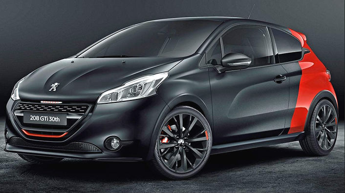peugeot 208 gti gt line e gti by psp a confronto. Black Bedroom Furniture Sets. Home Design Ideas