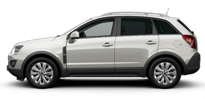 Opel Antara Silver