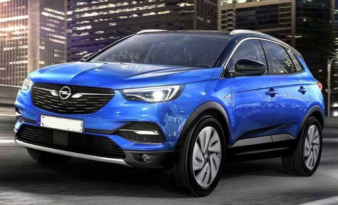 Opel Grandland x esterni