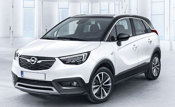 opel crossland x e grandland suv tedeschi a confronto. Black Bedroom Furniture Sets. Home Design Ideas