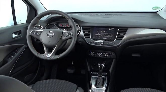 interni opel crossland x