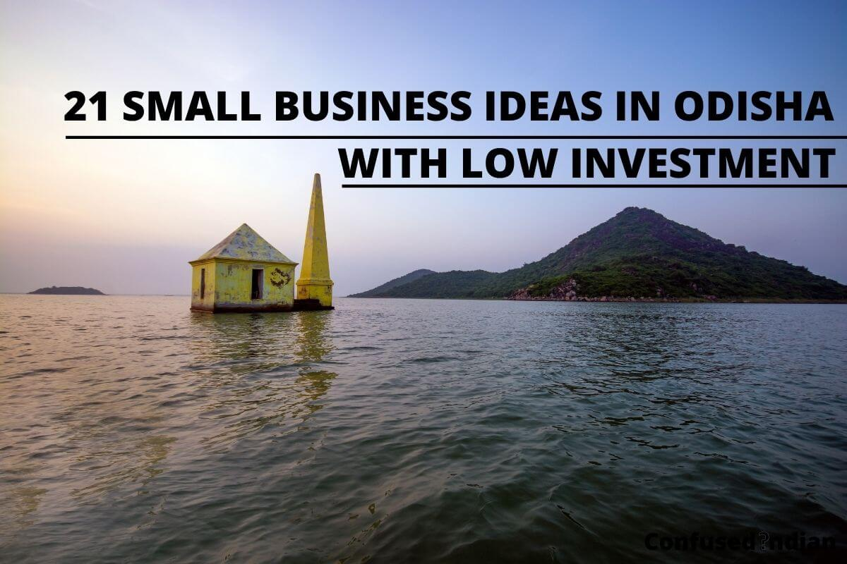21 Small Business Ideas in Odisha With Low Investment In 2021