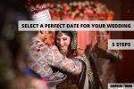 date for wedding