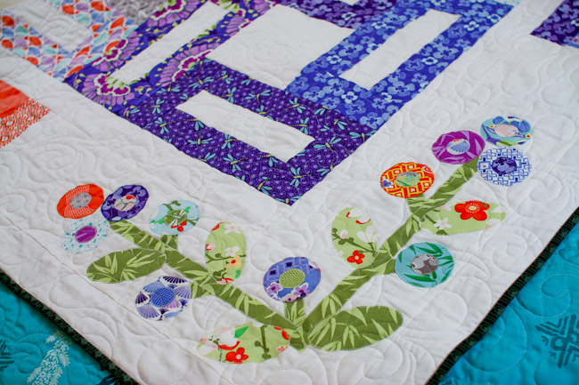 Kate Spain Good Fortune Jelly Roll Quilt