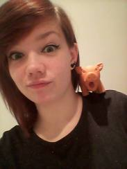 Sporky and Me :')