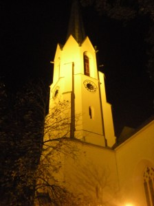 """The """"Maria Himmelfahrt"""" (Mary's Ascension) church in Patenkirchen"""