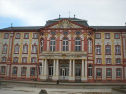 The front of the castle