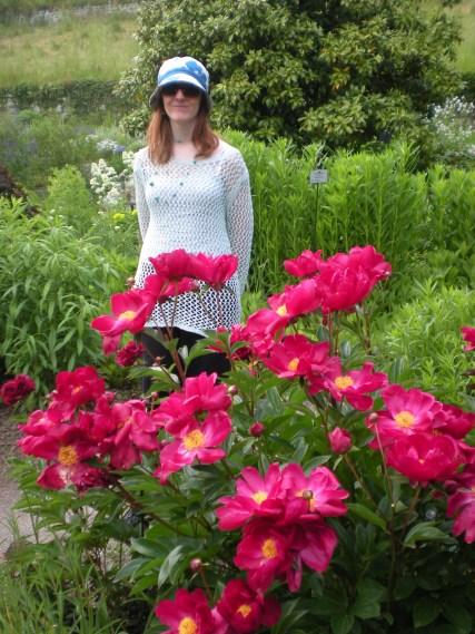 Me amongst the flowers