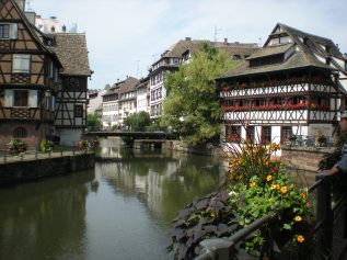 The building on the right is probably the most photographed in the Petit-France area!