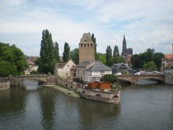 View from Barrage Vauban