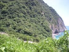 Part of Qingshui Cliff