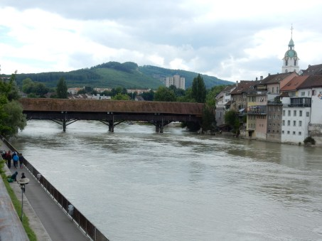 The river Aaare in Olten