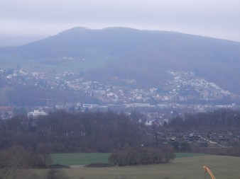 View from Bruderholz water tower