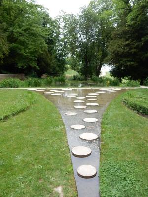 Champagne pond...