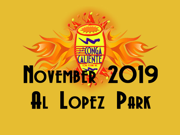 16th Annual Conga Caliente Returns November 3, 2019!