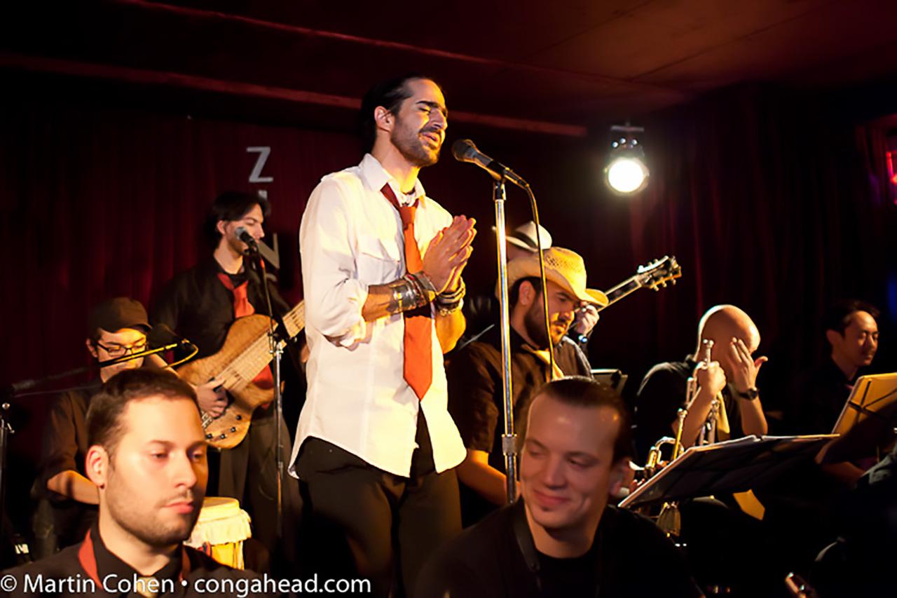 Gregorio Uribe at Zinc Bar