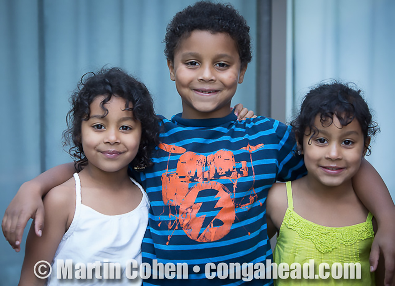 Victor Jones and family in Montvale.  May 6, 2012