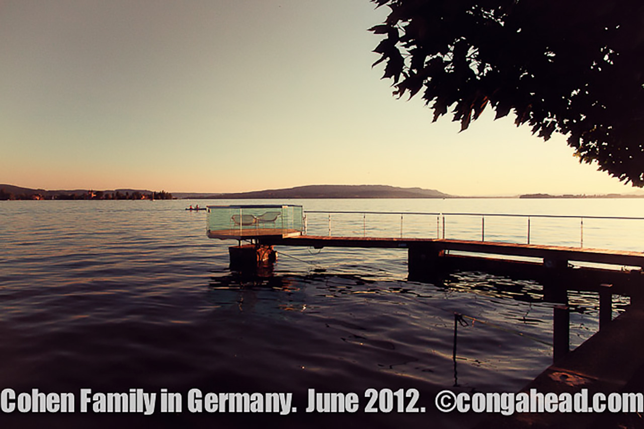 Cohen family in Germany, June 2012