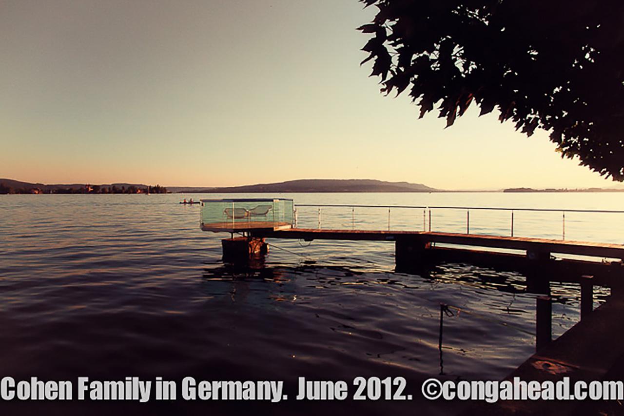 Cohen family in Germany, June 2012