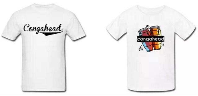 Send us a picture of you wearing a congahead shirt!