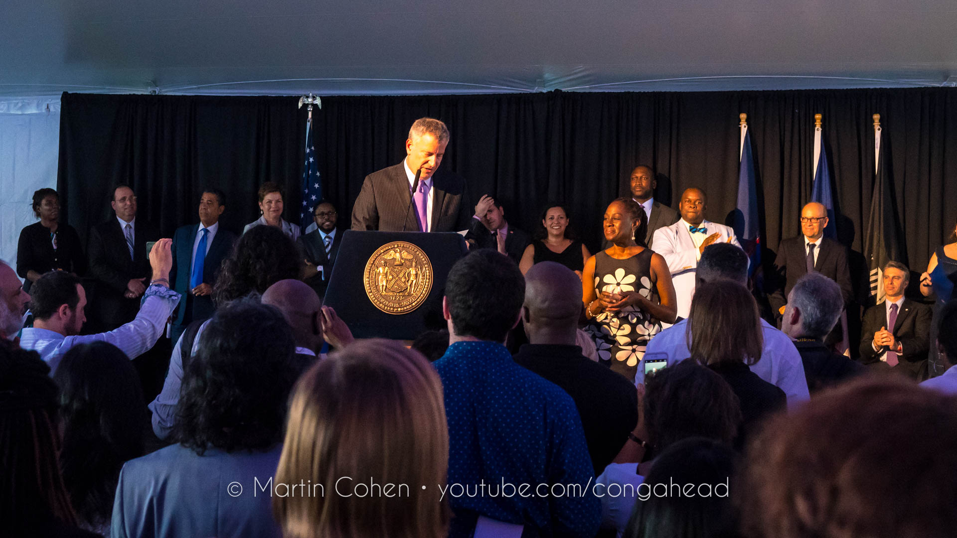 Harlem Havana celebration at Gracie Mansion, NYC