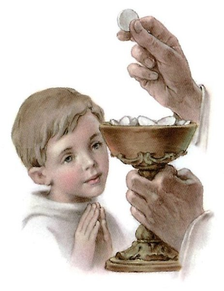 Về sự cho trẻ em rước lễ