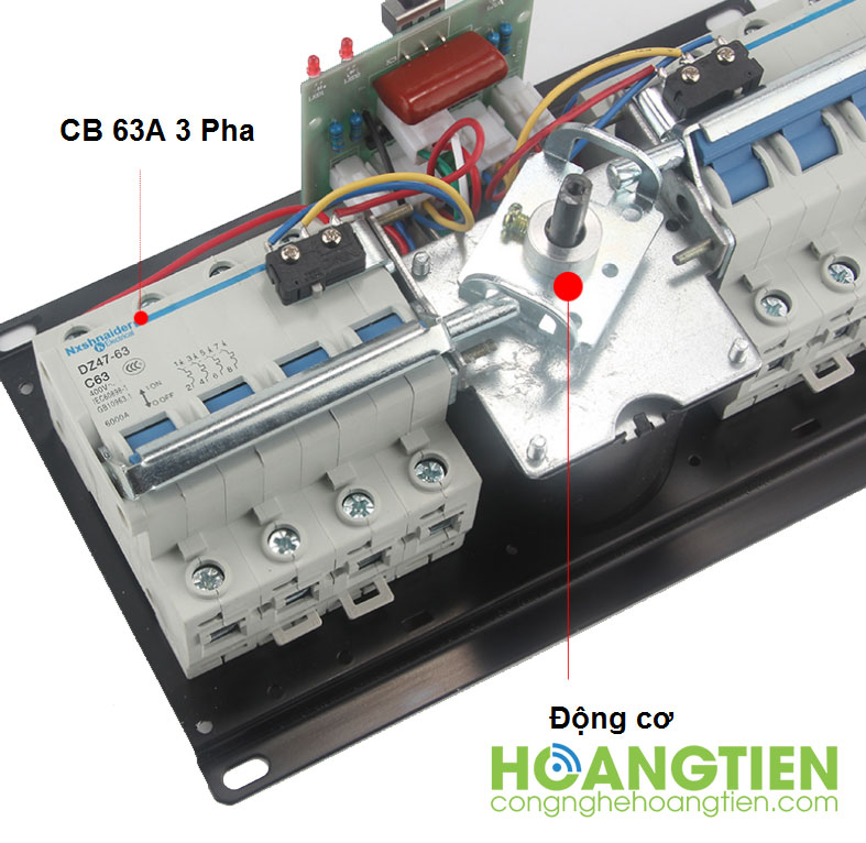 Thiết bị chuyển nguồn tự động ATS 63A 3 pha ATS17