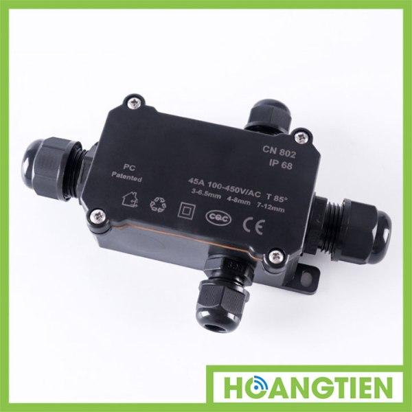 Cút nối dây điện chữ T chống nước CN804