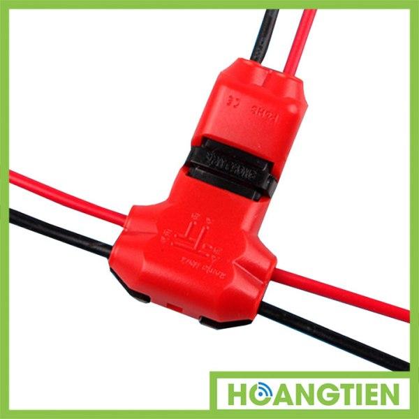 Cút nối dây điện nhanh chữ T hai cực TL-10