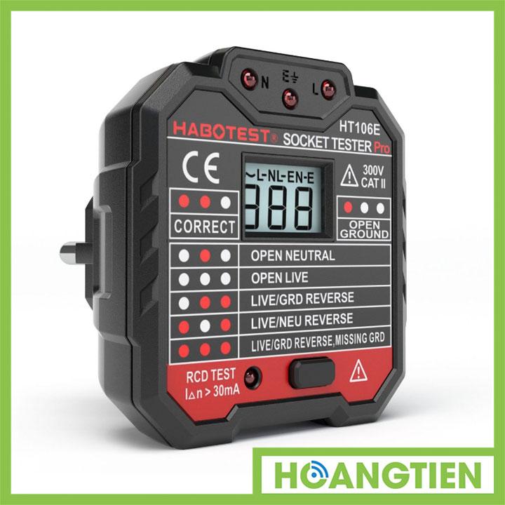 Đồng hồ hiển thị điện áp trạng thái nguồn 1 pha HT106
