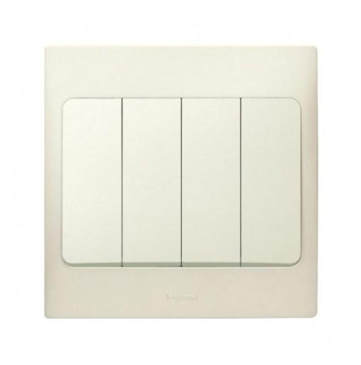 Mallia-single-pole-4-gang-1-way-switch-281006