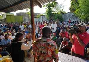 RDC/Mbandaka : Patrick Nkanga prêche Ramazani Shadary