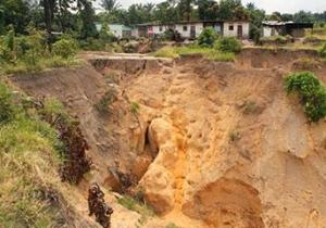 RDC: Kikwit, la ville menacée par plusieurs têtes d'érosion
