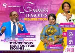 """Présidentielle 2018: Marie José Ifoku se dit """"traquée"""" jusque dans son église !"""