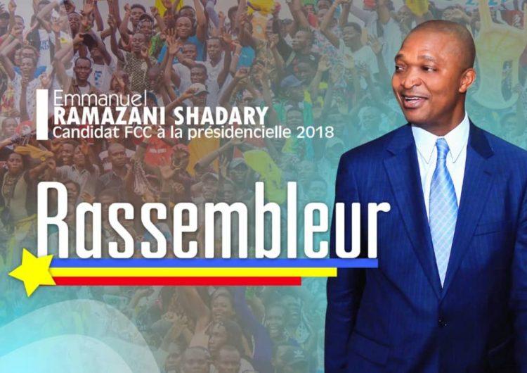 "Ramazani Shadary: ni rupture ni continuité, mais ""candidat de consolidation"""