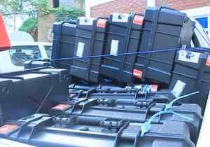RDC/Sud-kivu : la CENI receptionne le premier lot des matériels