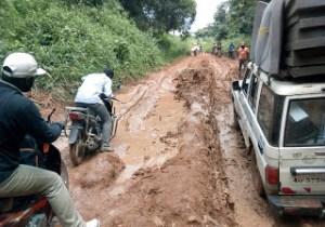 RDC/ Tshopo: la route menant vers l'aéroport Bangboka menacée par les érosions