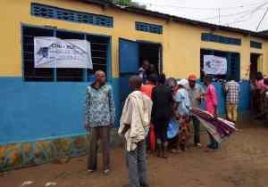 Kinshasa/Makala : les  témoins plus nombreux que les électeurs au CS Roi David