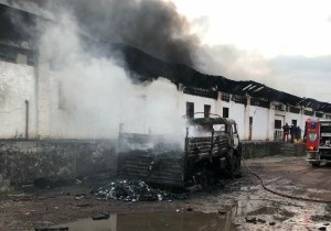 Grave incendie à la CENI : des matériels électoraux partis en fumée !