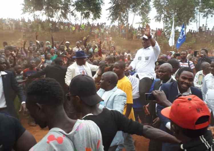 Butembo: Fayulu se déclare «président élu par le peuple congolais»