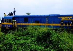 RDC/Lomami: déraillement d'un train à Kombeleka, des morts enregistrés !