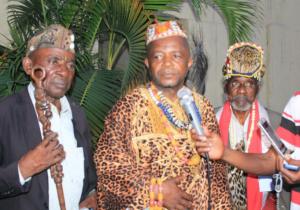 RDC: Sa majesté Lemba Lemba appelle les miliciens Kamuina Nsapu à sortir de la brousse