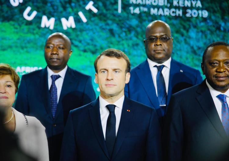 "Tshisekedi, Macron, Uhuru Kenyatta, etc. au ""sommet pour une seule planète"" à Nairobi"