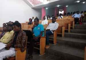 Kinshasa: les étudiants de l'Université Loyola du Congo font promotion de l'interdisciplinarité