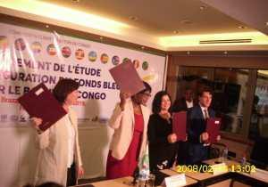 Bassin du Congo : les pays membres signent le contrat pour l'étude de préfiguration du Fonds Bleu