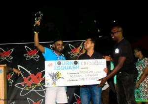 Squash 4e édition/TournoiXXL: le maestro congolaisBiancoen finale face àunPakistanais
