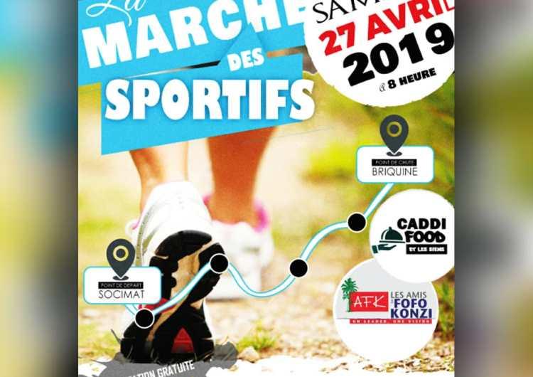 Sport-Loisirs : le député Fofo Konzi et les journalistes sportifs en marche de santé